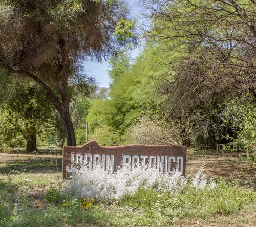 Facultad de ciencias forestales unse jard n bot nico for Jardin botanico cursos