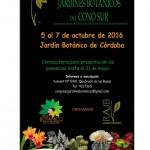 Poster Congreso Jardines Botanicos 2016
