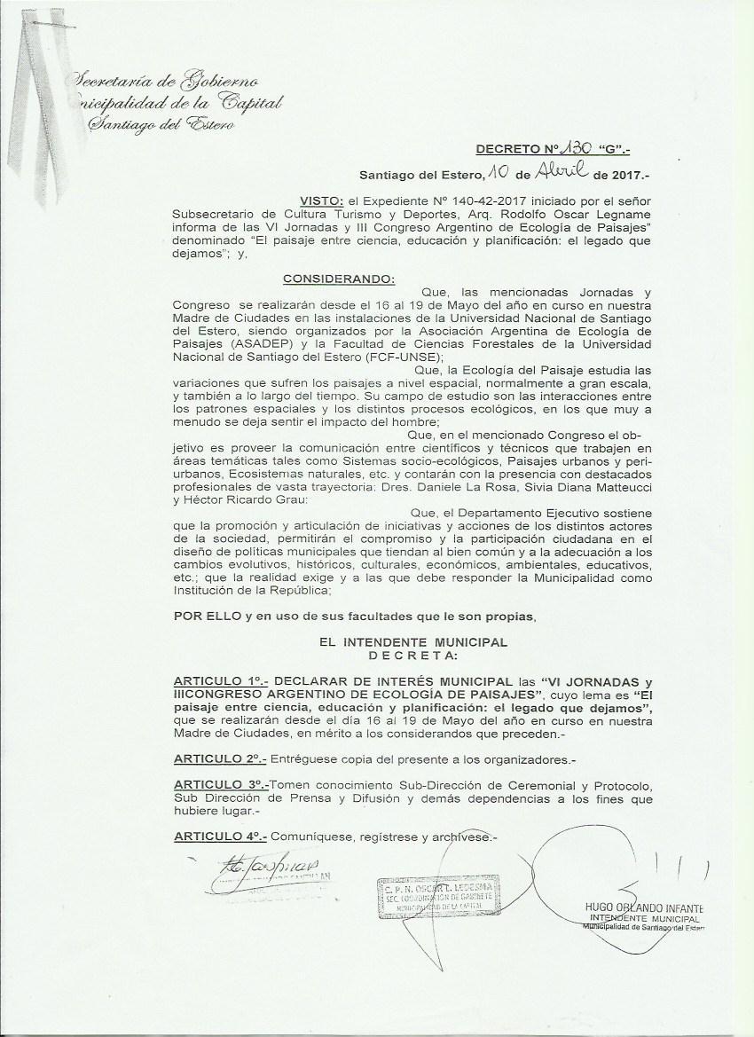 Municipalidad de la Capital de Santiago del Estero