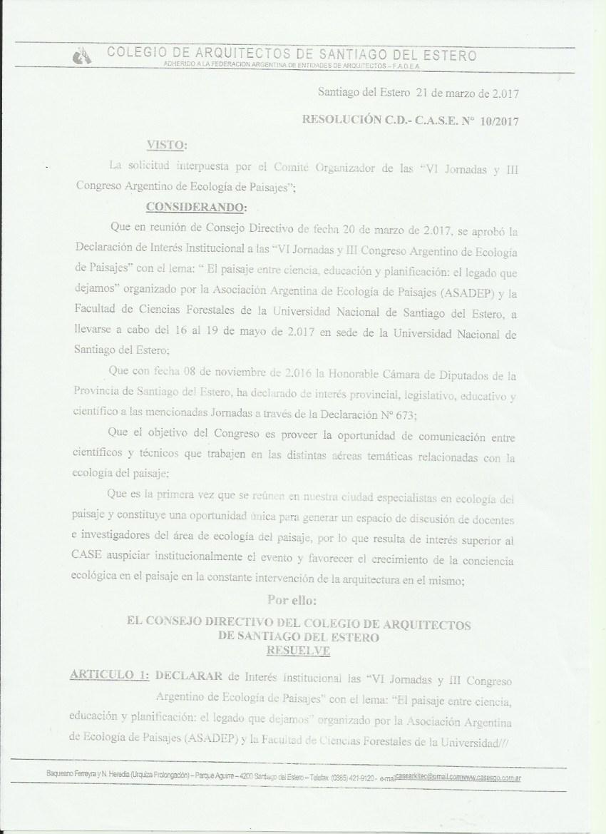Colegio de Arquitectos de Santiago del Estero (página 1)