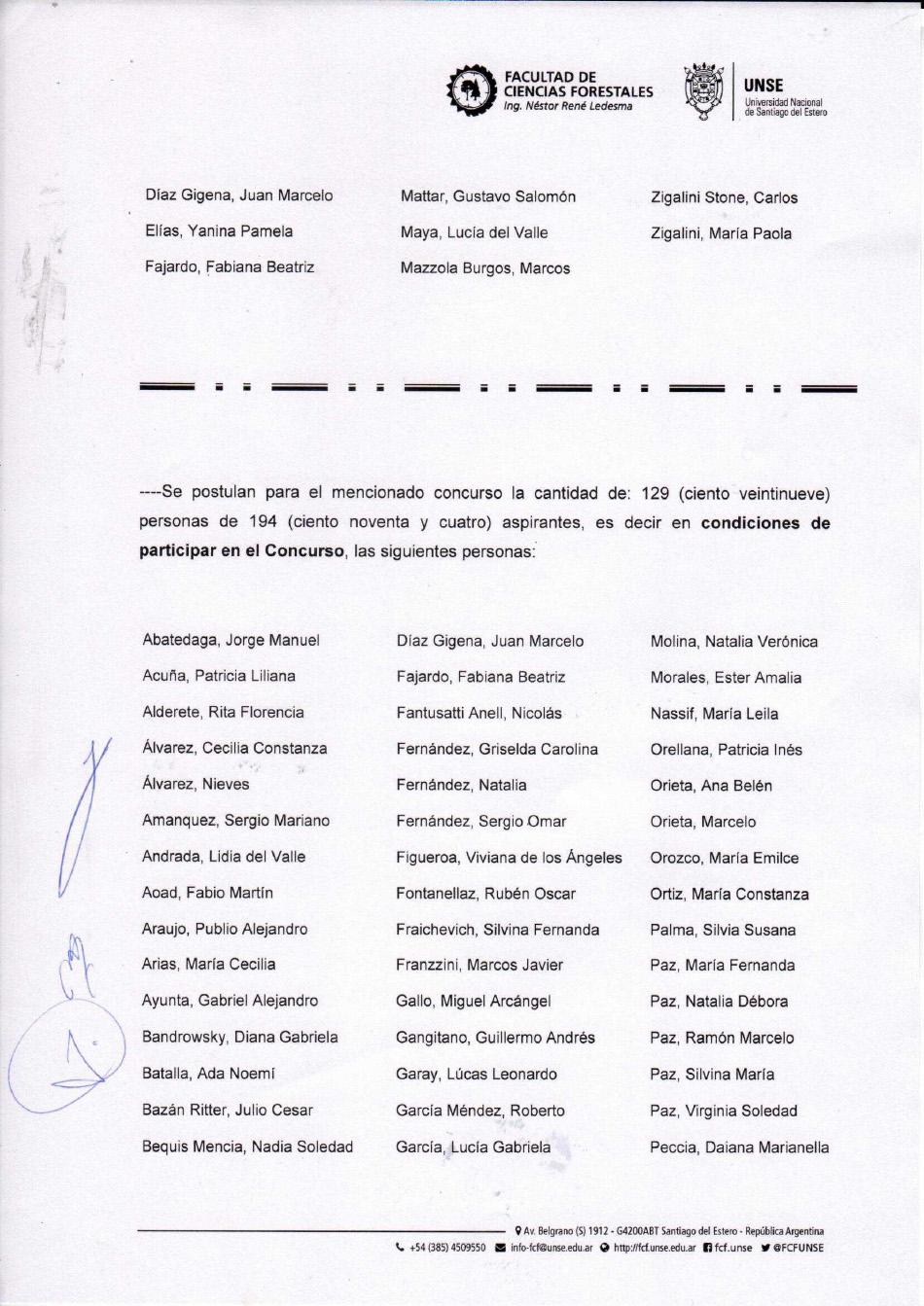 Acta Inscriptos Concurso 7 - FCF-4